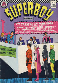 Cover Thumbnail for Superboy (Serieforlaget / Se-Bladene / Stabenfeldt, 1967 series) #2/1967