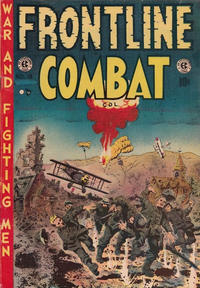 Cover Thumbnail for Frontline Combat (Superior Publishers Limited, 1951 series) #13