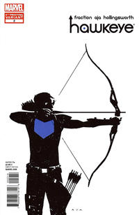 Cover for Hawkeye (Marvel, 2012 series) #2 [4th printing]