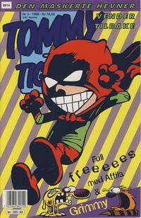Cover for Tommy og Tigern (Bladkompaniet / Schibsted, 1989 series) #3/1998