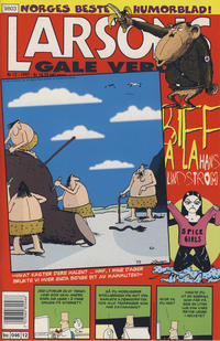 Cover Thumbnail for Larsons gale verden (Bladkompaniet, 1992 series) #12/1997