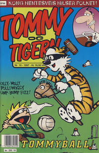 Cover Thumbnail for Tommy og Tigern (Bladkompaniet / Schibsted, 1989 series) #10/1997