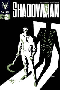 Cover Thumbnail for Shadowman (Valiant Entertainment, 2012 series) #2 [Cover B - Dave Johnson]