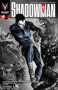 Cover Thumbnail for Shadowman (Valiant Entertainment, 2012 series) #2 [Second Printing]