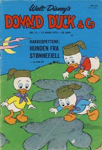 Cover Thumbnail for Donald Duck & Co (Hjemmet / Egmont, 1948 series) #11/1973