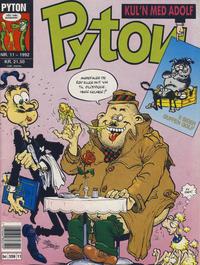 Cover Thumbnail for Pyton (Bladkompaniet / Schibsted, 1988 series) #11/1992