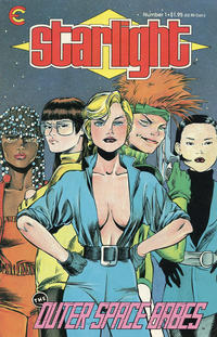 Cover Thumbnail for Starlight (Eternity, 1987 series) #1