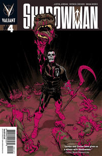 Cover Thumbnail for Shadowman (Valiant Entertainment, 2012 series) #4 [Cover B - Dave Johnson]