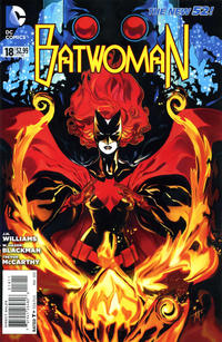 Cover Thumbnail for Batwoman (DC, 2011 series) #18