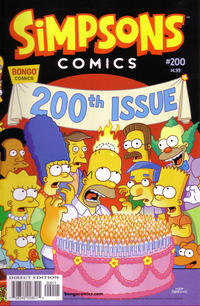 Cover Thumbnail for Simpsons Comics (Bongo, 1993 series) #200