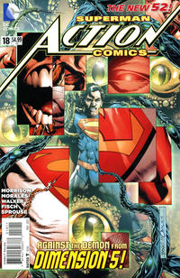 Cover Thumbnail for Action Comics (DC, 2011 series) #18