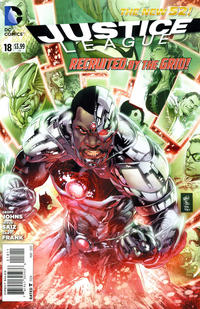 Cover Thumbnail for Justice League (DC, 2011 series) #18