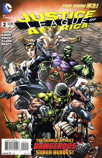 Cover Thumbnail for Justice League of America (DC, 2013 series) #2