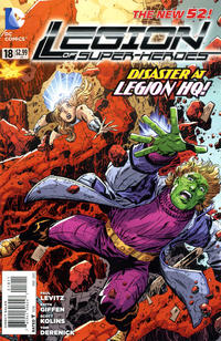 Cover Thumbnail for Legion of Super-Heroes (DC, 2011 series) #18