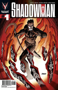 Cover Thumbnail for Shadowman (Valiant Entertainment, 2012 series) #1 [Dave Johnson 1:20 Variant]