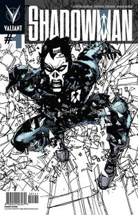 Cover Thumbnail for Shadowman (Valiant Entertainment, 2012 series) #1 [Bill Sienkiewicz 1:50 Variant]