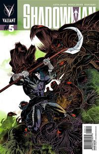 Cover Thumbnail for Shadowman (Valiant Entertainment, 2012 series) #5 [Cover D - Rafael Grampá]