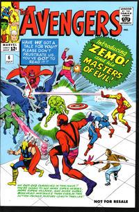 Cover Thumbnail for Avengers No. 6 [Marvel Legends Reprint] (Marvel, 2006 series)