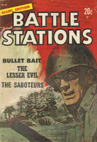 Cover Thumbnail for Battle Stations Giant Edition (Magazine Management, 1966 series) #36-41