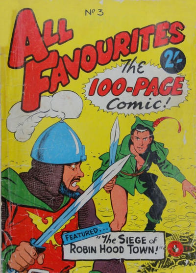 Cover for All Favourites, The 100-Page Comic (K. G. Murray, 1957 ? series) #3