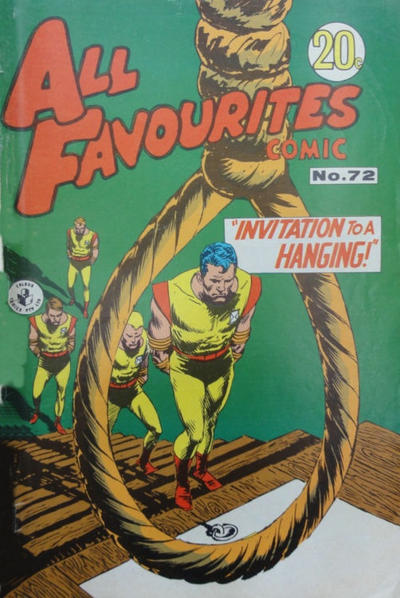 Cover for All Favourites Comic (K. G. Murray, 1960 series) #72