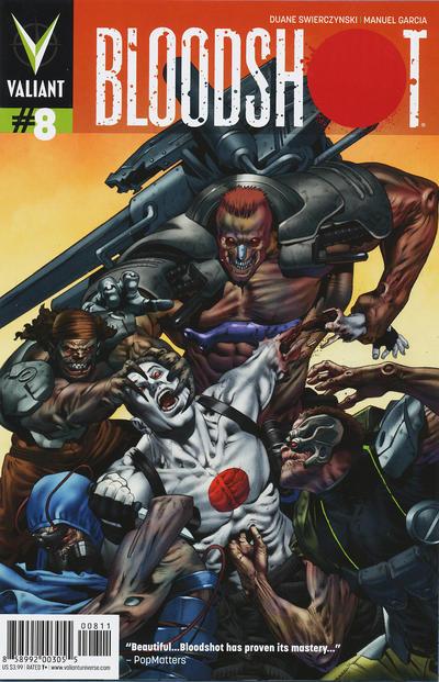 Cover for Bloodshot (Valiant Entertainment, 2012 series) #8 [Cover B - Trevor Hairsine]