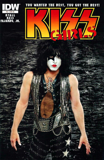 Cover for Kiss (IDW, 2012 series) #6 [Cover B by Jamal Igle]