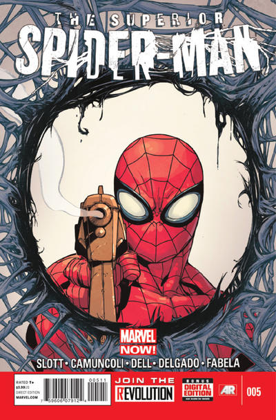 Cover for Superior Spider-Man (Marvel, 2013 series) #5