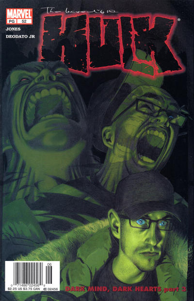 Cover for Incredible Hulk (Marvel, 2000 series) #52