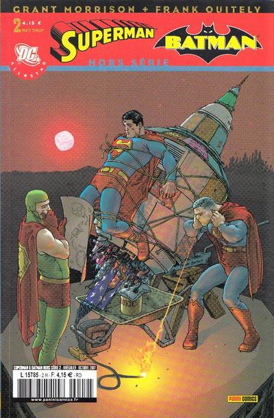 Cover for Superman & Batman Hors Série (Panini France, 2007 series) #2