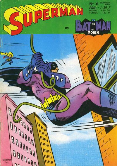 Cover for Superman et Batman et Robin (Sage - Sagédition, 1969 series) #6
