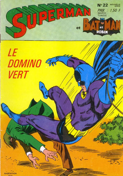 Cover for Superman et Batman et Robin (Sage - Sagédition, 1969 series) #22