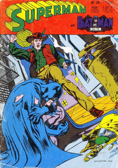 Cover for Superman et Batman et Robin (Sage - Sagédition, 1969 series) #24