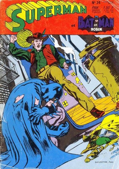 Cover for Superman et Batman et Robin (Sage - Sagédition, 1969 series) #24