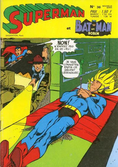 Cover for Superman et Batman et Robin (Sage - Sagédition, 1969 series) #36