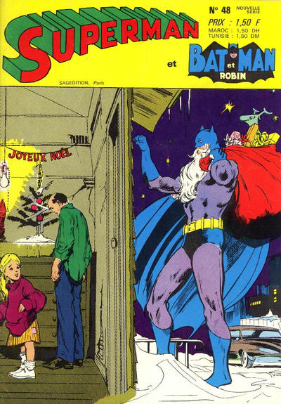 Cover for Superman et Batman et Robin (Sage - Sagédition, 1969 series) #48