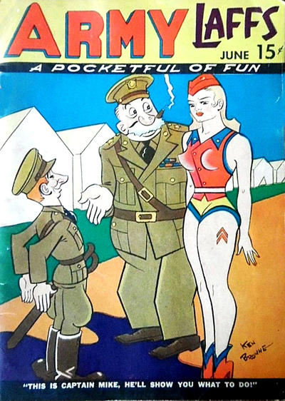 Cover for Army Laffs (Prize, 1941 series) #v1#4