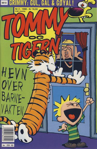 Cover for Tommy og Tigern (Bladkompaniet / Schibsted, 1989 series) #2/1998