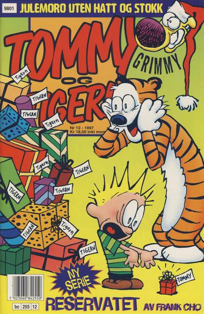Cover for Tommy og Tigern (Bladkompaniet / Schibsted, 1989 series) #12/1997