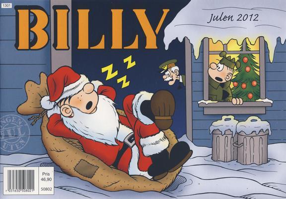 Cover for Billy julehefte (Hjemmet / Egmont, 1970 series) #2012 [Bokhandelutgave]