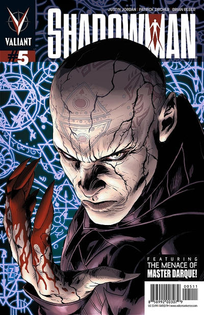 Cover for Shadowman (Valiant Entertainment, 2012 series) #5 [Cover B - Pullbox Edition - Patrick Zircher]