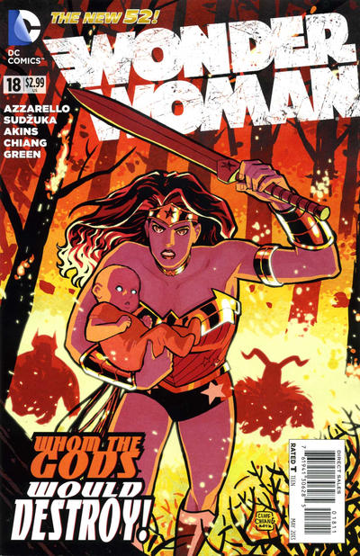 Cover for Wonder Woman (DC, 2011 series) #18