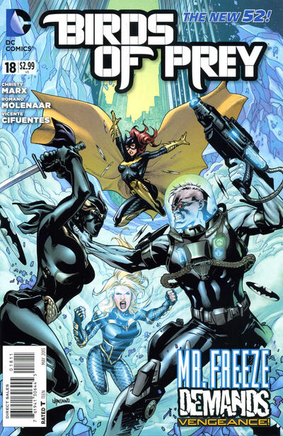 Cover for Birds of Prey (DC, 2011 series) #18