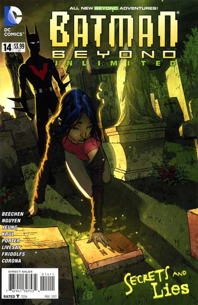 Cover for Batman Beyond Unlimited (DC, 2012 series) #14