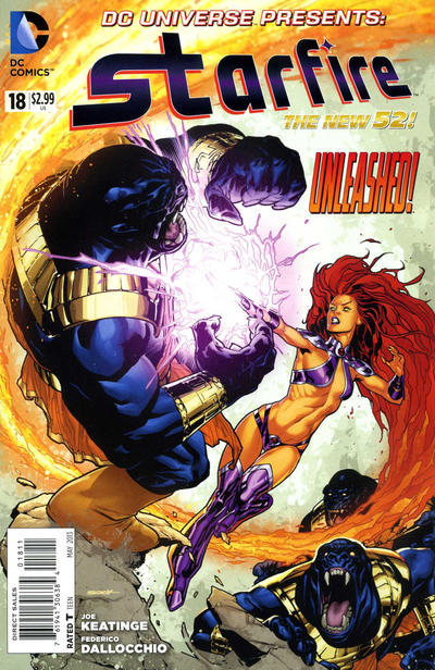 Cover for DC Universe Presents (DC, 2011 series) #18