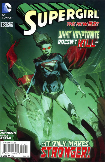 Cover for Supergirl (DC, 2011 series) #18
