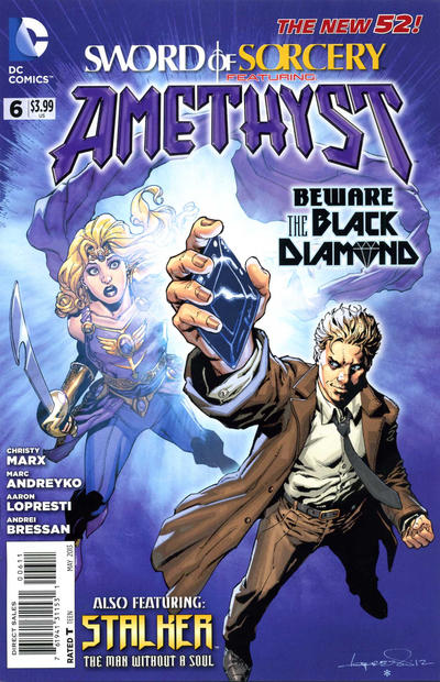 Cover for Sword of Sorcery (DC, 2012 series) #6