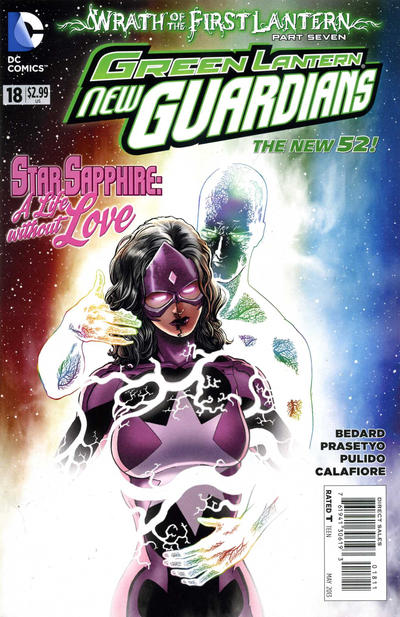 Cover for Green Lantern: New Guardians (DC, 2011 series) #18