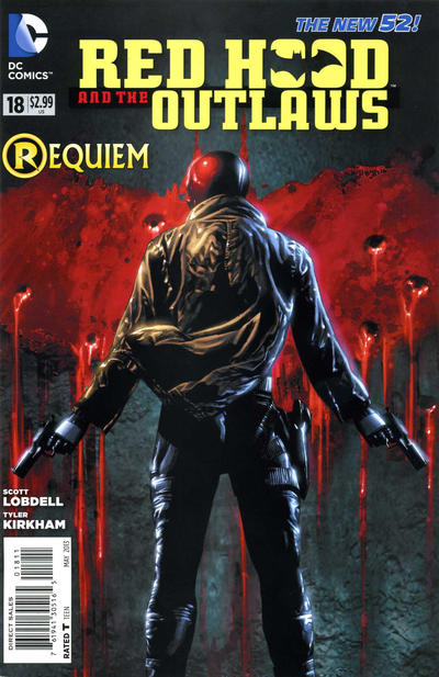 Cover for Red Hood and the Outlaws (DC, 2011 series) #18
