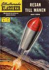 Cover for Illustrerade klassiker (Williams Förlags AB, 1965 series) #2 [HBN 199] (5:e upplagan) - Resan till månen